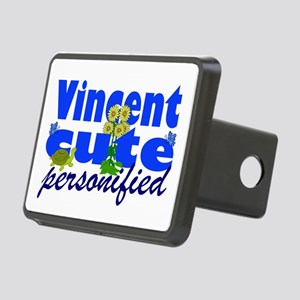 Cute Vincent Rectangular Hitch Coverle)