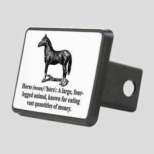 Horse Definition Rectangular Hitch Cover