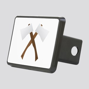 Crossed Axes Hitch Cover