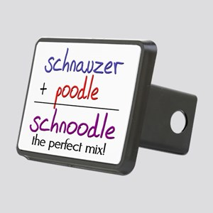 schnoodle Rectangular Hitch Cover