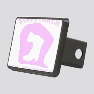 Yoga Girls are Twisted Rectangular Hitch Cover