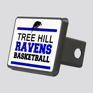 TREE HILL RAVENS BASKETBAL Rectangular Hitch Cover