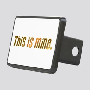 This is mine. Rectangular Hitch Cover