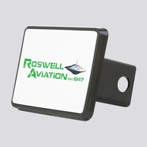 Roswell Aviation Rectangular Hitch Cover