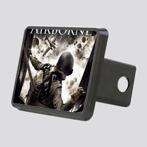 2-Airborne.moh.mousepad Rectangular Hitch Cover
