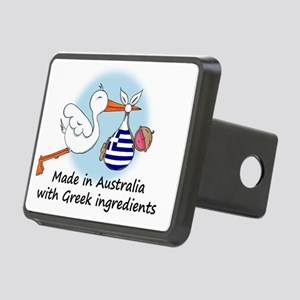 stork baby greece aus Rectangular Hitch Cover