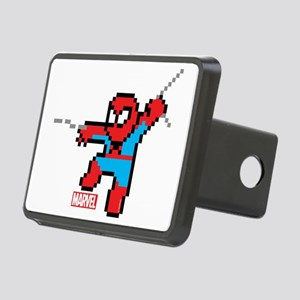 8 Bit Spiderman Rectangular Hitch Cover