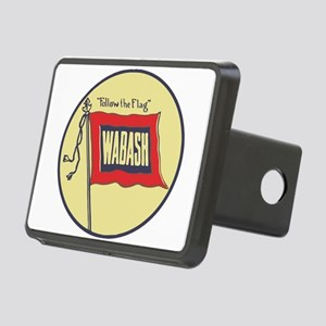 Wabash Railroad logo Rectangular Hitch Cover