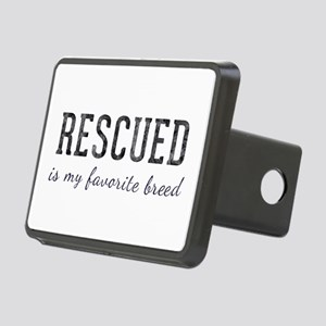 Rescued is Rectangular Hitch Cover