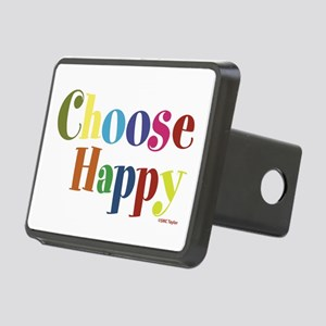 Choose Happy 01 Rectangular Hitch Cover