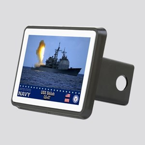 USS Shiloh CG-67 Rectangular Hitch Cover