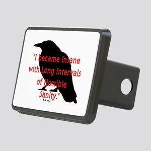 POE QUOTE Rectangular Hitch Cover