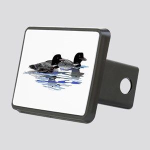 loon family Rectangular Hitch Cover