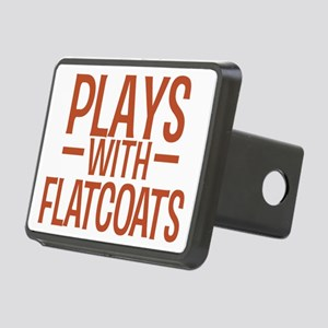 playsflatcoats Rectangular Hitch Cover