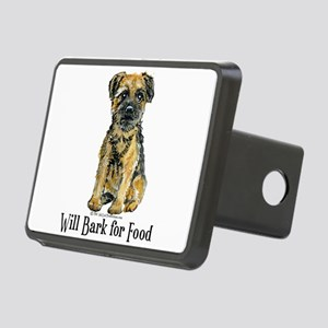 Bark for Food Rectangular Hitch Cover