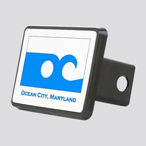 Ocean City MD Flag Rectangular Hitch Cover