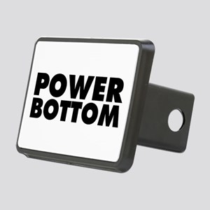 Power Bottom Rectangular Hitch Cover
