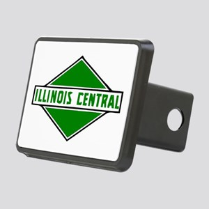 Illinois Central Railroad Rectangular Hitch Cover