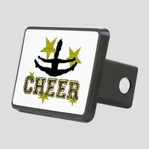 Cheerleader Gold and Black Hitch Cover