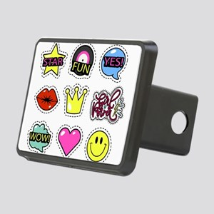 Girl power Rectangular Hitch Cover