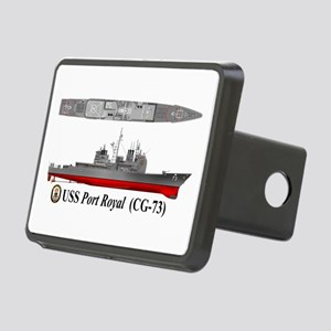 USS Port Royal CG-73 Rectangular Hitch Cover
