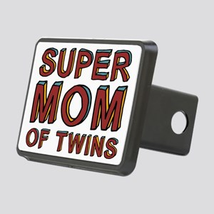 SuperMOMofTwinscpSize Rectangular Hitch Cover