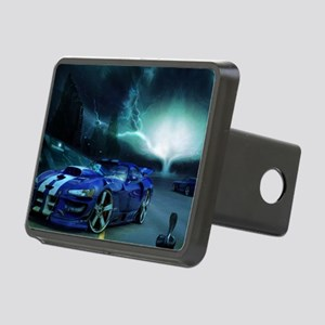 FASTER THAN LIGHTENING Rectangular Hitch Cover