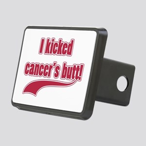 I Kicked Cancer's Butt! Rectangular Hitch Cover