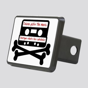 Driver picks the music. Rectangular Hitch Cover