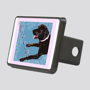 Save A Dog Rectangular Hitch Cover