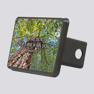 Fear Not Christian Bible V Rectangular Hitch Cover
