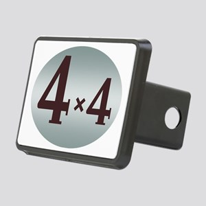FJ45 4x4 bed decal Rectangular Hitch Cover