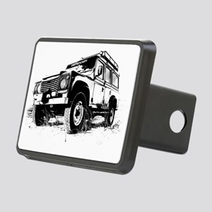 Land Rover Rectangular Hitch Cover