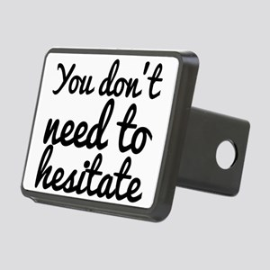 You don't need to hesitate Rectangular Hitch Cover
