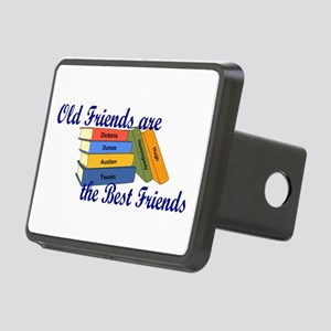 Books Best Friends Rectangular Hitch Cover