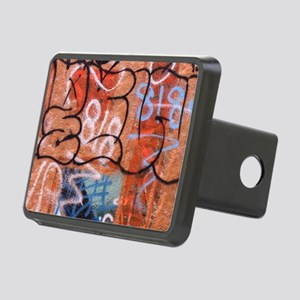 Venice Graffiti 2 King Rectangular Hitch Cover