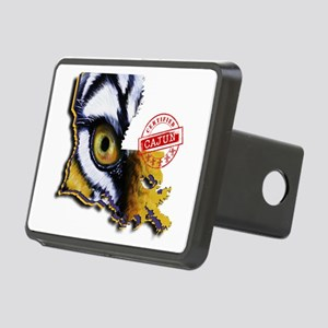 Certified Cajun Tiger Eye Rectangular Hitch Cover
