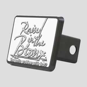 Raised in the Bronx Rectangular Hitch Cover