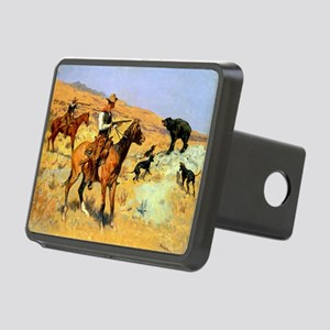 His Last Stand, c Rectangular Hitch Cover