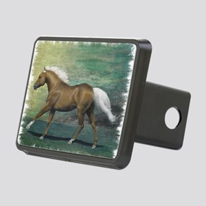 Palomino Stallion Rectangular Hitch Cover