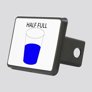 Glass Half Full Rectangular Hitch Cover