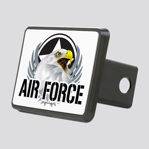 Air-Force-Eagle Rectangular Hitch Cover