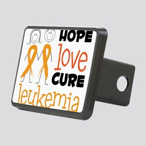 Leukemia Rectangular Hitch Cover
