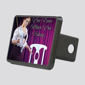 Cafe design mouse pad corr Rectangular Hitch Cover
