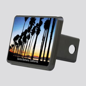 Sunset in Santa Barbara Rectangular Hitch Cover