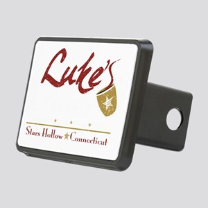 lukes diner new Rectangular Hitch Cover