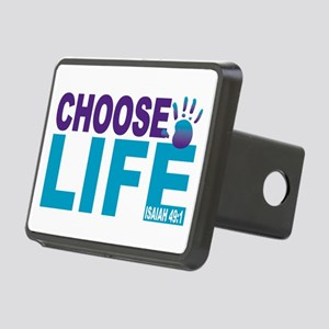 Choose Life Isaiah 49:1 Rectangular Hitch Cover