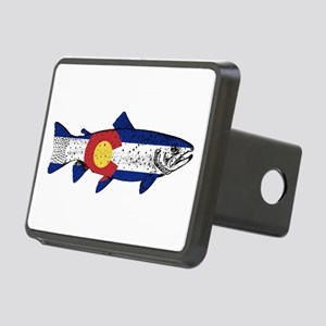 Fish Colorado Rectangular Hitch Cover