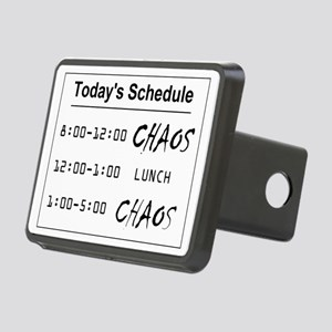 Organized Chaos Rectangular Hitch Coverle)