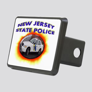 New Jersey State Police Rectangular Hitch Coverle)